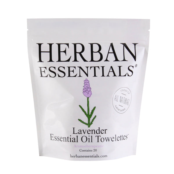 Herban Essentials Essential Oil Towlettes - Lavender