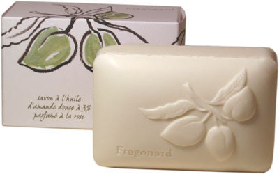 Fragonard Soap with Plant Oils - Sweet Almond Oil with Rose