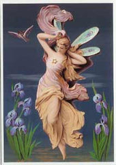 All Occasion Greeting Card - Evening Fairy 1900 - Hampton Court Essential Luxuries