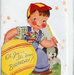 Birthday Greeting Card - Oh Joy It's your Birthday! - Hampton Court Essential Luxuries