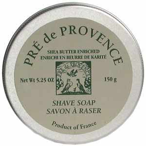 Pre de Provence Shea Enriched Shave Soap in a Tin
