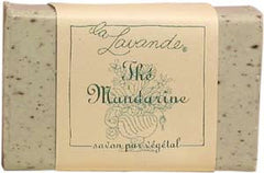 La Lavande Broyee Soap - Th̩ Mandarine (Mandarin Tea) - 100gm - Hampton Court Essential Luxuries