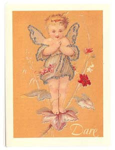 All Occasion Greeting Card - Fairy Glitter Card - DARE