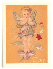 All Occasion Greeting Card - Fairy Glitter Card - DARE - Hampton Court Essential Luxuries