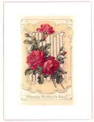 Mother's Day Greeting Card - Happy Mother's Day Sparkle Card - Long Stemmed Roses - Hampton Court Essential Luxuries