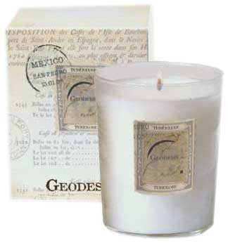Geodesis Tuberose 220g Scented Candle