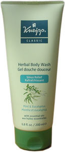 Kneipp Classic Eucalyptus and Mint Herbal Body Wash