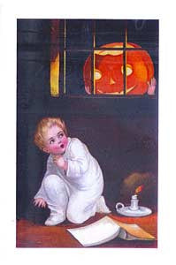 Halloween Greeting Card - A Starry Halloween