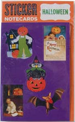 Halloween Sticker Card - Hampton Court Essential Luxuries
