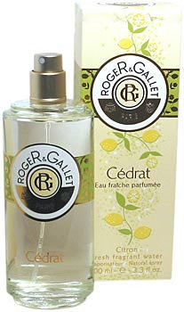 Roger & Gallet Cedrat Citron Fresh Fragrant Water - 3.3fl oz