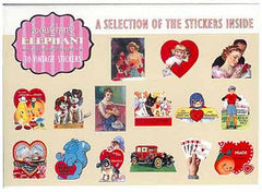 Valentine Labels - Vintage Reproduction Happy Valentine's Day Stickers - Hampton Court Essential Luxuries