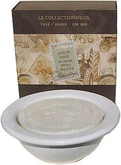 Lothantique Le Collectionneur Men's Shaving Soap with Bowl - Hampton Court Essential Luxuries