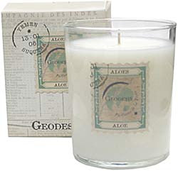 Geodesis Aloe 220g Scented Candle