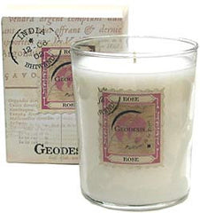Geodesis Rose 220g Scented Candle - Hampton Court Essential Luxuries