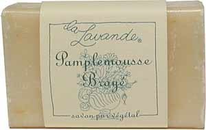 La Lavande Broyee Soap - Pamplemousse (Grapefruit w Peel) - 100gm