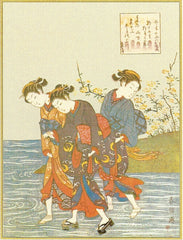 All Occasion Greeting Card - Three Japanese Women