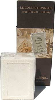 Lothantique Le Collectionneur Men's Boxed Soap - 2x150gm