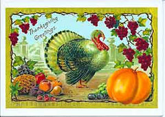 Thanksgiving Greeting Card - Thanksgiving Greetings - Hampton Court Essential Luxuries