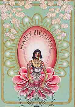 Birthday Greeting Card - Happy Birthday Sparkle Card