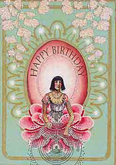 Birthday Greeting Card - Happy Birthday Sparkle Card - Hampton Court Essential Luxuries