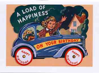 Birthday Greeting Card - A Load of Happiness on Your Birthday