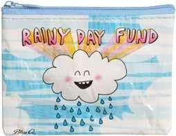 Blue Q Coin Purse - Rainy Day Fund