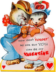 Valentine's Day Greeting Card - No One But You Can Be My Valentine