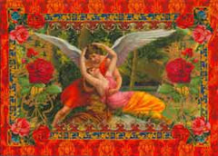 Valentine's Day Greeting Card - Wings of Love - Hampton Court Essential Luxuries