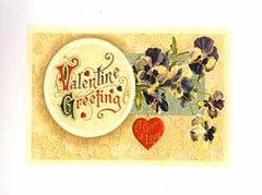 Valentine's Day Greeting Card - Valentine Greetings - Hampton Court Essential Luxuries