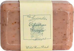 La Lavande Broyee Soap - Eglantine (Wild Rose) - 200gm - Hampton Court Essential Luxuries