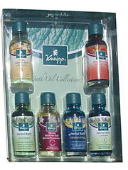 Kneipp Herbal Bath Oil Collection - 6x20mls - Hampton Court Essential Luxuries