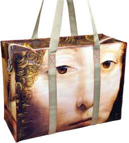 Blue Q da Vinci Shoulder Tote
