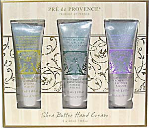 Pre de Provence Shea Butter Hand Cream Travel Size Gift Set