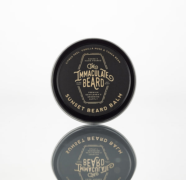 The Immaculate Beard - Beard Balm-Made in Texas - DUSK