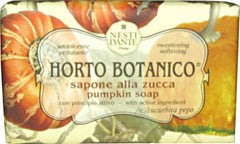 Nesti Dante Horto Botanico Pumpkin Soap with Shea Butter - Hampton Court Essential Luxuries