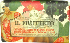Nesti Dante Il Frutetto Pomegranate & Blackcurrant Soap - Hampton Court Essential Luxuries