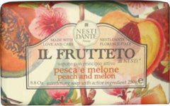 Nesti Dante Il Frutetto Peach and Melon Soap - Hampton Court Essential Luxuries