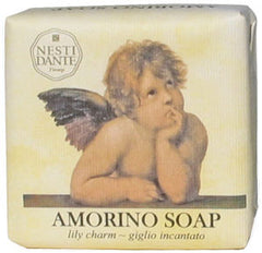 Nesti Dante Amorino Lily Charm Soap - Hampton Court Essential Luxuries