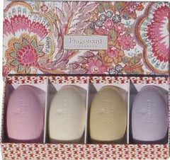 Fragonard Gift Boxed Guest Soaps in Orange Flower Box - Hampton Court Essential Luxuries