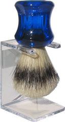 Shave Brush - Natural Bristle w Stand - Hampton Court Essential Luxuries