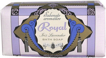 Claus Porto Royal - Iris Lavender Bath Soap