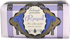 Claus Porto Royal - Iris Lavender Bath Soap - Hampton Court Essential Luxuries