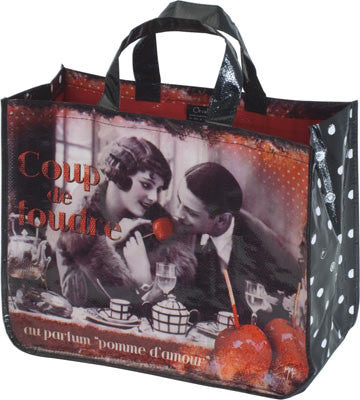 Accents Chic Shopping Bag - Love at First Sight