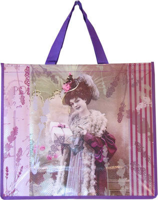 Accents Chic Shopping Bag - Elegance Lavender
