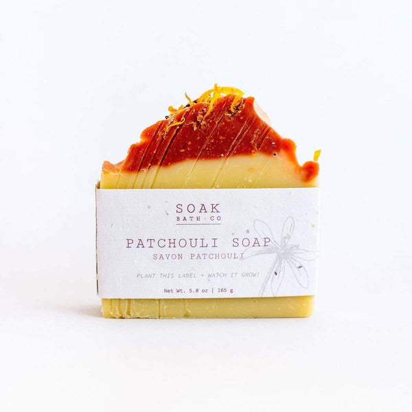 SOAK Bath Co. - Patchouli Soap
