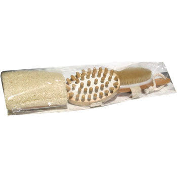 Multi-Head Bath Brush Combo Set
