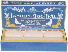 Victoria Scandinavian Soap - Lanolin-Agg-Tval 6x50gm - Hampton Court Essential Luxuries