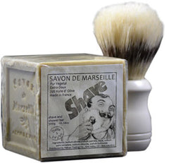 Boite a Savon Marseille Soap - Cube Shave and Shower - Hampton Court Essential Luxuries