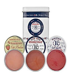 Smith's Rosebud 3 Lavish Layers of Lip Balm - Hampton Court Essential Luxuries