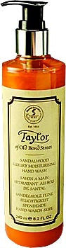 Taylor of Old Bond Street Sandalwood Luxury Moisturizing Hand Wash